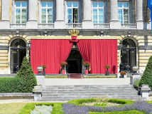 Belgischer Senat im Nationaltag Lizenzfreie Stockfotos