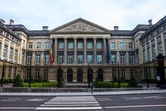 Belgisches Bundesparlament stockfoto