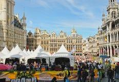 Belgisk ölhelg Arkivfoto