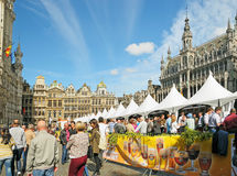 Belgisk ölhelg Arkivbilder