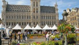 Belgisk ölhelg Arkivbild