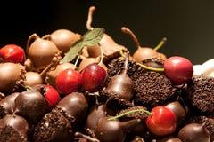 belgisk choklad royaltyfria foton