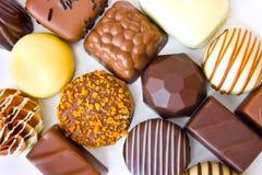 belgiska choklader Royaltyfri Fotografi