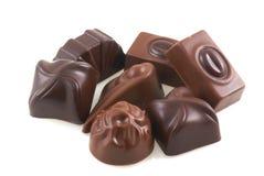 belgiska choklader arkivfoto