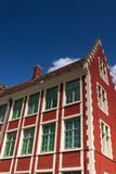 belgiskt hus royaltyfria foton