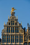 Belgium, Antwerp. The guildhalls Sint-Joris at Great Market Square stock photo