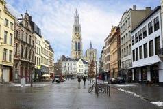 Belgium. Antwerp. Royalty Free Stock Photography
