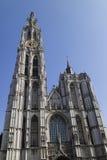 Belgium, Antwerp, March 17, 2016, Onze-Lieve-Vrouwekathedraal Stock Photo
