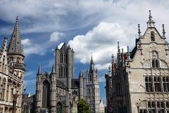 Belgium architecture Royalty Free Stock Image