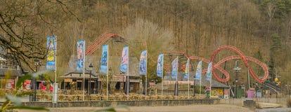 Belgium - Ardennes - Coo. Amusement park Plopsa in Coo, Belgium Stock Photography