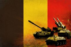 Belgium army, military forces Royalty Free Stock Photos