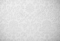 Belgium baroque white Christmas wedding background. Belgium baroque white Christmas wedding repeating pattern Stock Photo