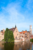 Belgium. Bruges, Royalty Free Stock Photos