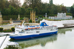Belgium. Brussel  27 September 2014.Mini Europe on 27 september, Royalty Free Stock Images