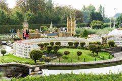 Belgium Brussel. 27 September 2014.Mini Europe on 27 september, Royalty Free Stock Images