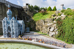 Belgium. Brussel 27 September 2014 Mini Europe on 27 september, Stock Images