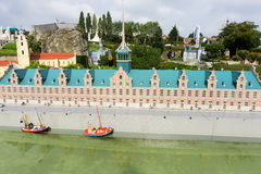 Belgium  Brussel. 27 September 2014Mini Europe on 27 september, Royalty Free Stock Image