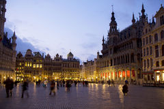 Belgium. Brussels . The Grand-Place Stock Images