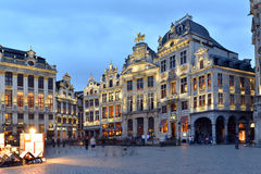 Belgium, Brussels, Grote Markt Royalty Free Stock Photos