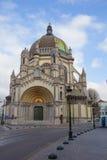 belgium bruxelles L'église de Vierge Marie béni Photographie stock
