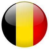 Belgium Button Royalty Free Stock Photography