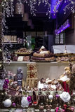 Belgium chocolate window shop Stock Photography