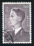 King Baudouin printed by Belgium Stock Images