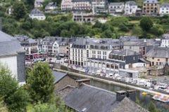 Belgium city bouillon Stock Images