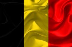 Belgium Flag Royalty Free Stock Photography