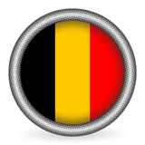 Belgium flag button Stock Images