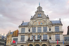 Belgium. Gent. Architecture. Stock Photos