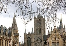belgium gent Flanders obrazy royalty free