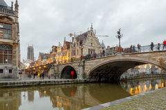 Belgium. Gent. royalty free stock image
