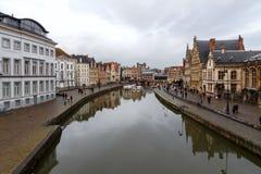 Belgium. Gent. royalty free stock photos