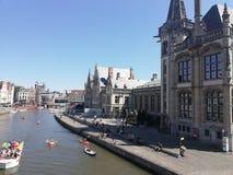Belgium Gent stock photo