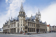 Belgium. Ghent, post office Building. Royalty Free Stock Photography