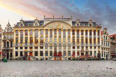 Belgium - Grand Place in Brussels.  stock images
