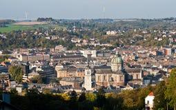 belgium katedra Namur Zdjęcia Royalty Free