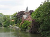 belgium kościół Obrazy Royalty Free