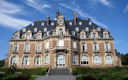 Belgium Namur Chateau. Namur Chateau in on top of the Mountain, Namur, Belgium, Europe Royalty Free Stock Image