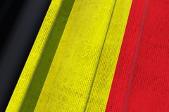Belgium National Flag Royalty Free Stock Photos