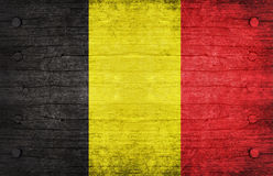 Belgium. The National Flag of the Belgium Stock Photography