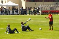 Belgium national football team Stock Images