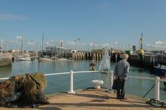 Belgium - Oostende - Harbour Stock Image
