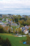 Belgium, panoramic view of the village Stock Image