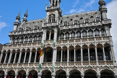 Belgium, picturesque Grand Place of Brussels royalty free stock photo