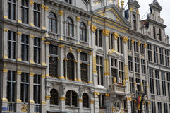Belgium, picturesque Grand Place of  Brussels Royalty Free Stock Images