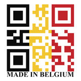 Belgium QR Stock Photography