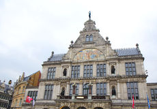 Belgium. Royal Flemish theater in Ghent. Royalty Free Stock Photos
