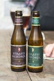 Belgium Straffe Hendrik beers bottles  Stock Photos